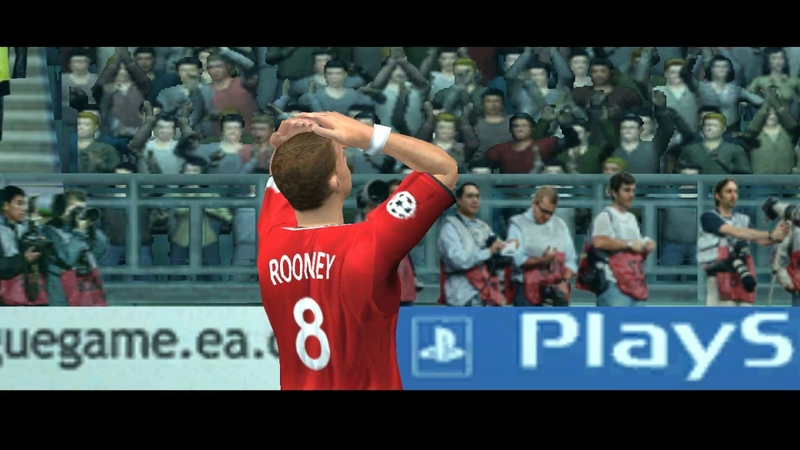 UEFA Champions League 2004—2005. Gameplay. PC. Real Madrid vs. Manchester United. HQ. High Quality.