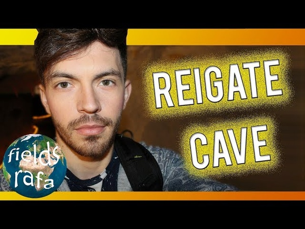 LOST IN A WORLDWAR CAVE IN UK REIGATE | Vlog Visiting a Cave used during the WorldWar in London!
