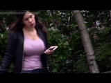 8391957_candid_busty_milf_big_tits_bra_outline_in_tight_top.mp4