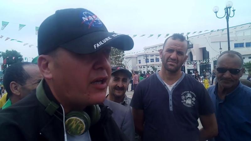أراء بعض المتظاهرين خلال مظاهرات البويرة 24