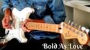 Jimi Hendrix John Mayer Bold As Love Guitar Cover