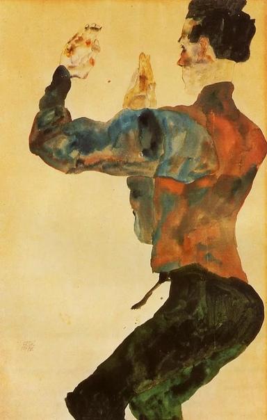 Коллекция автопортретов Эгон Шиле. Часть 2