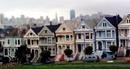 Уникальные дома викторианской эпохи, сохранившиеся в Сан-Франциско.
