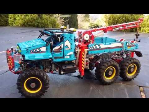 SBrick used in lego All Terrain Tow Truck 42070