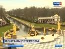В Петергофе заработали фонтаны
