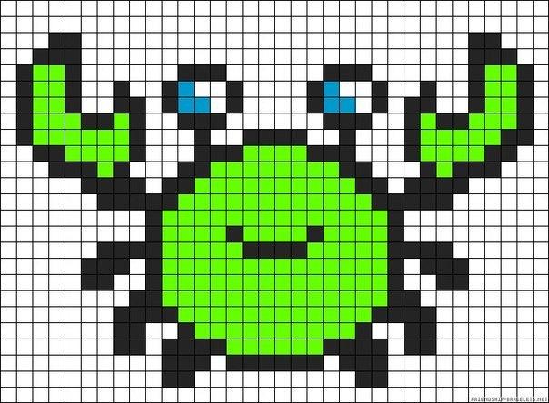 Как нарисовать пиксельные очки