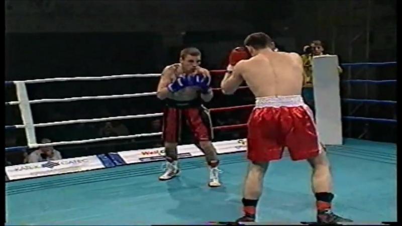 Профессиональный бокс Киев 1998 год Константин Швец Александр Обозов