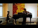 Andrea Astrabová - CH.D.Bériot Koncert pre husle a orch. č.9 a mol Op.104