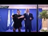 Нетаньяху исполнил «танец курочки» с победительницей Евровидения