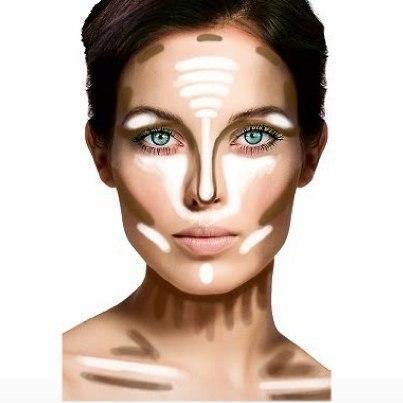 как наносить макияж на лицо с крупными порами и волосками видео