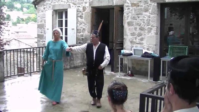 Basse danse 1 - Compagnie Trifolium