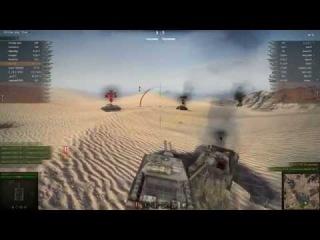 Best replay #1 - Су 122 44 [-7] Карта: Песчаная река.