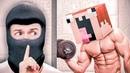 Воры ОГРАБИЛИ самого СИЛЬНОГО МАЙНКРАФТЕРА! Ограбление По-Русски в МАЙНКРАФТ! Minecraft Приколы