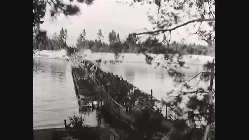Финская кинохроника боев на Карельском перешейке 1941