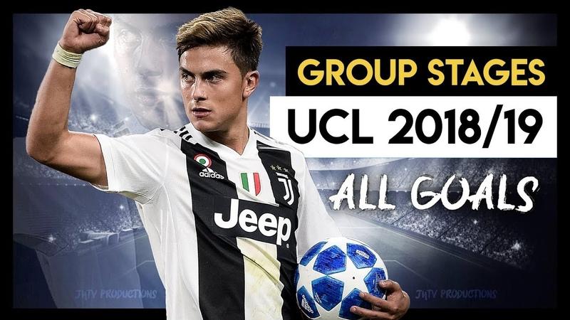 La Juventus ai Gironi di Champions League • 2018/2019 (Tutti i Gol)