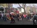 In Köln haben heute Menschen gegen die Einschränkung der Meinungsfreiheit durch das NetzDG