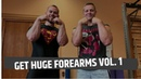 Forearm Workout - How to get huge forearms from ARMWRESTLERS