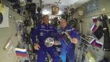 Космонавты Олег Артемьев и Сергей Прокопьев поздравили с 625-летием Коневскую обитель