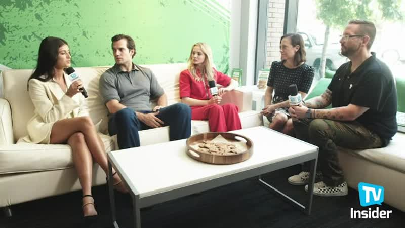 Witcher cast interview for TV Insider