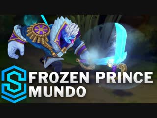 Frozen Prince Mundo Skin Spotlight - Pre-Release - League of Legends