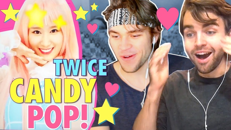 TWICE - Candy Pop REACTION!! [한글자막 Sanas wig snatched OUR wigs!]