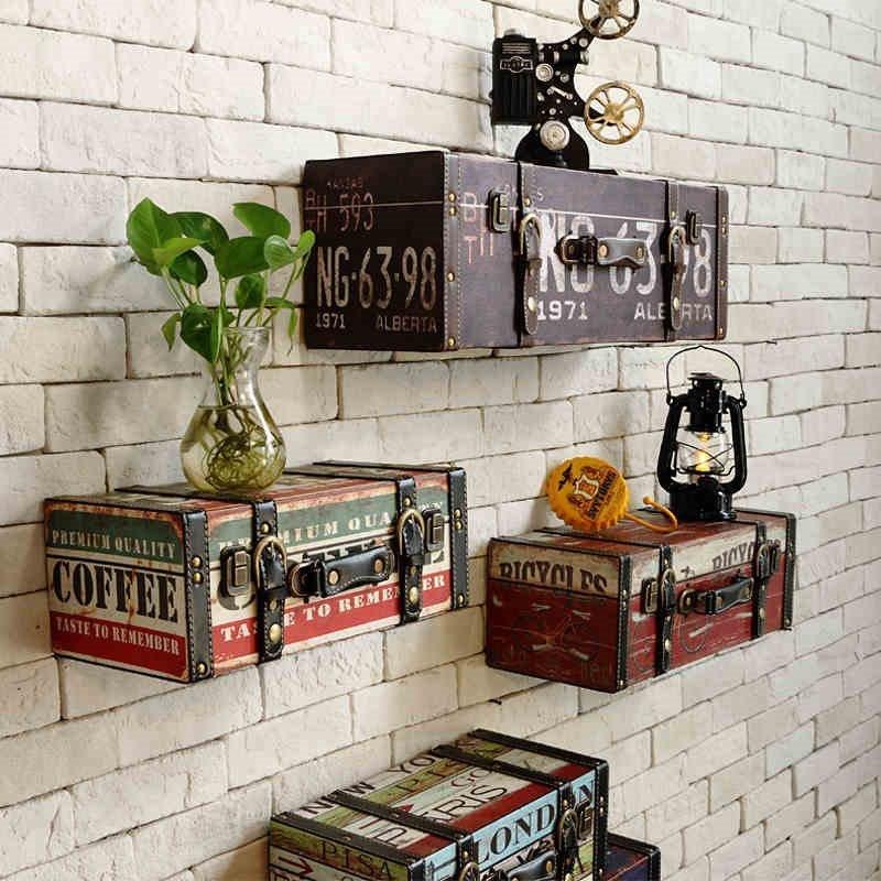 Декоративные ящики-полки -