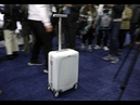 ForwardX Robotic's - OVIS Smart Suitcase, CES 2019 [4K Video] / Video by Uniglobe Kisko