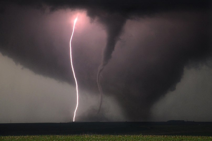 tornado, lightning, picture, photo