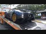 Pagani Zonda F One of 25 in the world 7.3 L AMG V12 engine Delivery to Collectors Weekend Auto Show