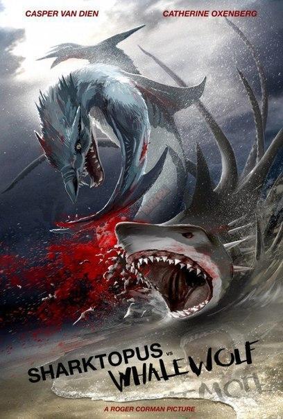 3 Самых Новых фильма про морских чудовищ!