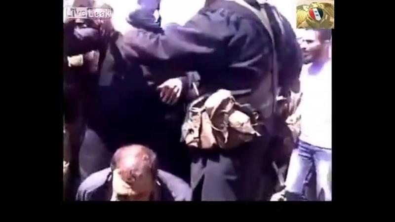 Syrischen Christen wird der Kopf abgeschnitten