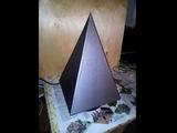 Пирамида Тесла - качер, запуск и демонстрация!