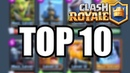 TOP 10 meist gespielte Karten