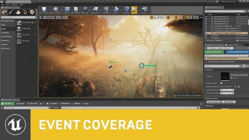 Volumetric Fog and Lighting in Unreal Engine 4 | GDC 2018 | Unreal Engine