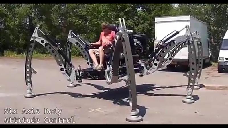 Mantis — шестиногий робот
