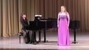 Дарья Брусова XI Международный конкурс молодых оперных певцов Тихвин 2018