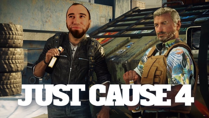 С пивом покатит. Летаем в Just Cause 4 3 [PS4]
