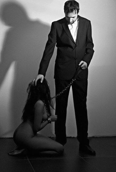 В подчинении господин сейчас полном и раб смотреть