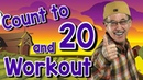 Count to 20 and Workout   Fun Counting Song for Kids   Count by 1's to 20   Jack Hartmann