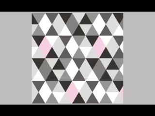 О треугольном орнаменте. Промо части курса по вязанию ковра