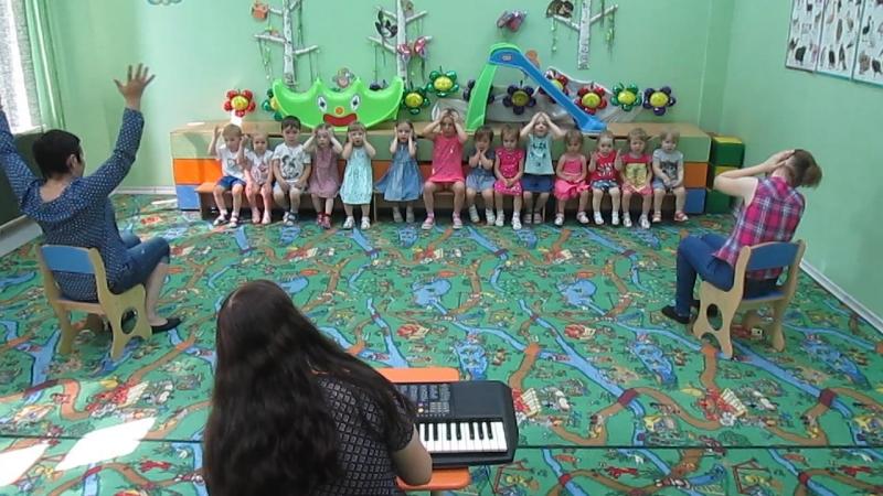 Музыкальное занятие(19.07.18) ДВА ВЕСЁЛЫХ ГУСЯ