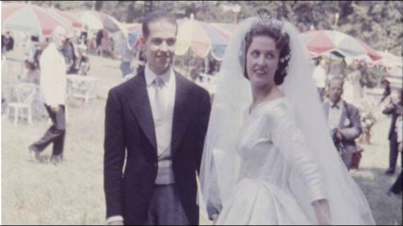 Свадьба Принца Генриха Орлеанского и Герцогини Марии-Терезы Вюртембергской, 5 июля 1957 г.