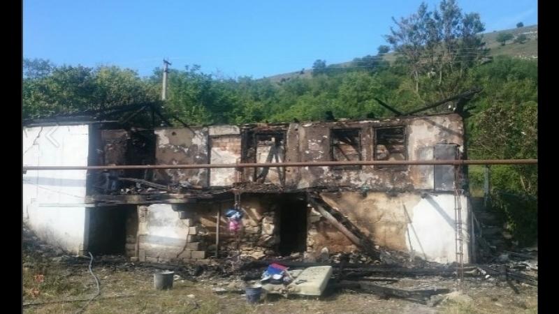 Семья с тремя детьми осталась без крыши над головой