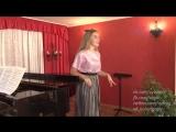 Анастасия Егорова - дипломант VII Международного конкурса юных вокалистов Елены Образцовой