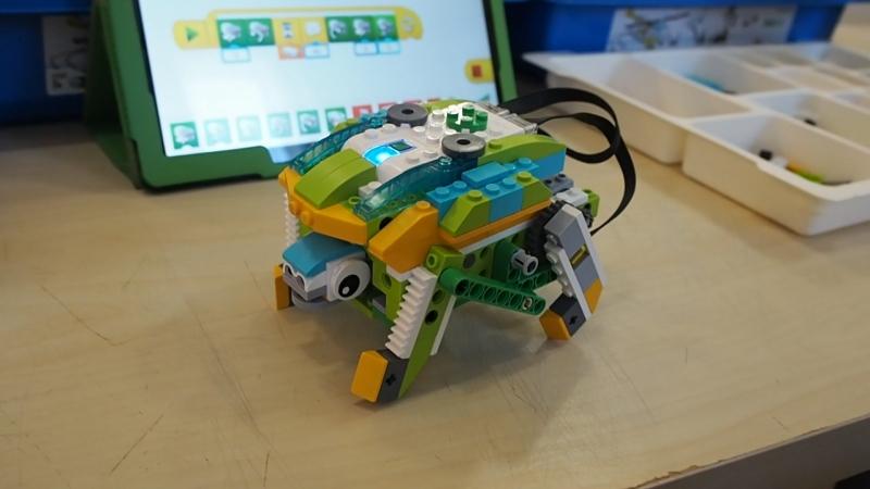 Доисторическая черепашка из Lego WeDo 2 0 в Слобода IT