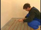 Укладка нагревательного кабеля Deviflex в помещениях от СТРУМОК ООО