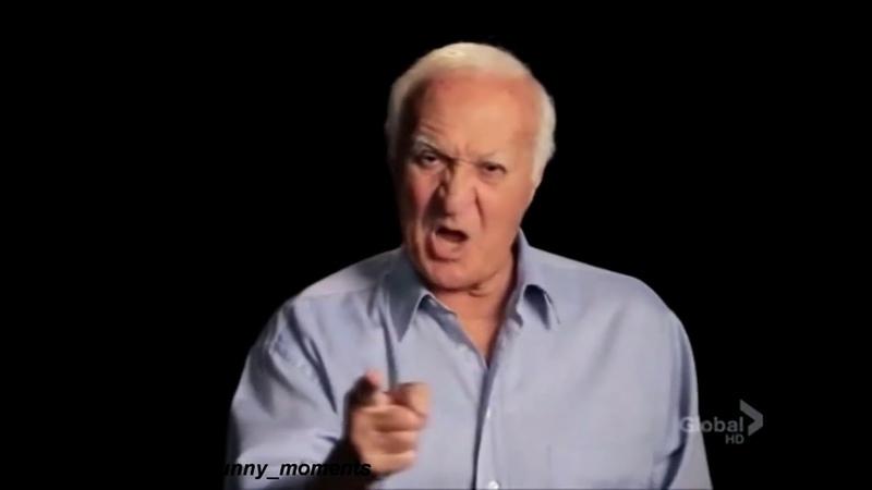 Не смешно, дед - кадр из программы, мемас Николая Соболева