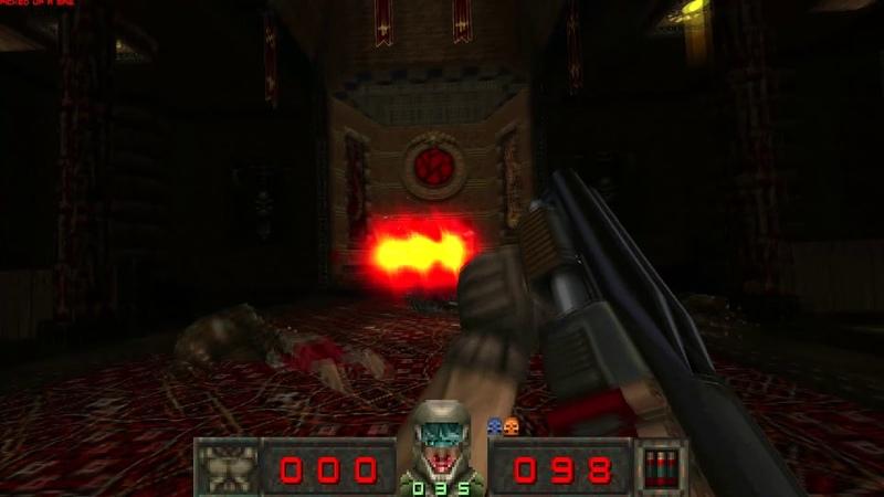 ZRift Chasm in Doom 0 4 Preview