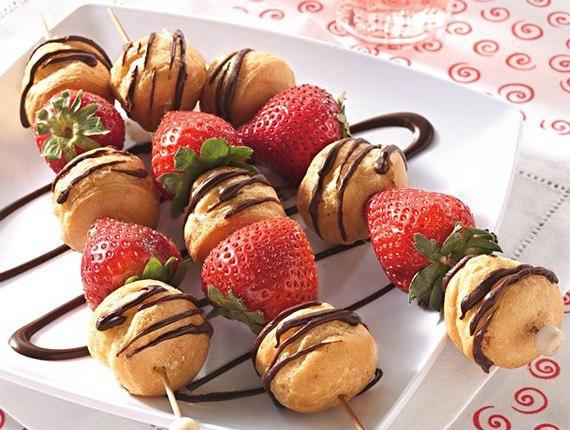 Идеи сладостей на палочке (9 фото)