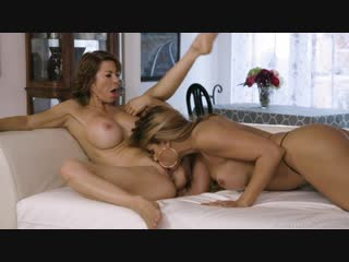 Mercedes carrera, alexis fawx - swipe right for sex! [lesbian, big tits, mature & milf, cunilingus, facesitting, 1080p]